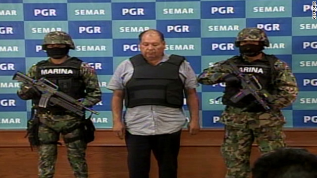 Capturan a Mario Cárdenas Guillén, líder del Cártel del Golfo en México