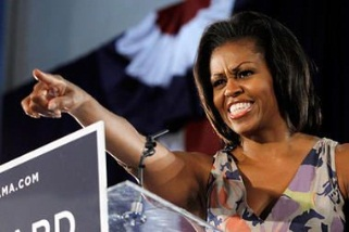 Michelle, de discreta primera dama a pieza clave  para la campaña de su marido