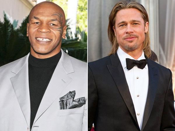 """Tyson: """"Encontré a mi mujer con Brad Pitt"""""""