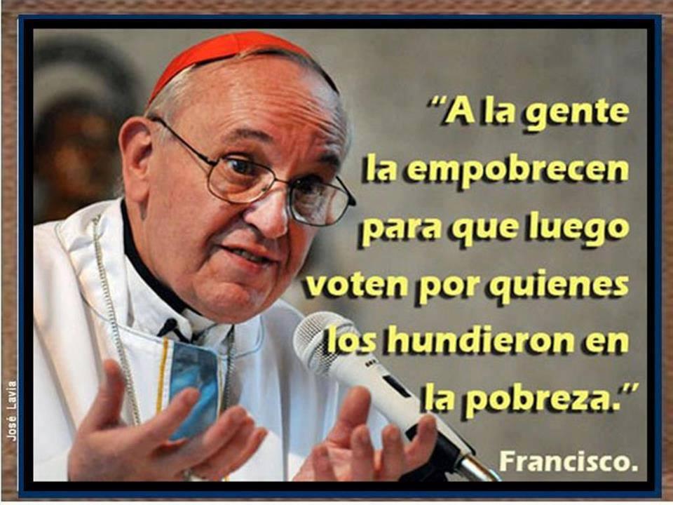 ¡Cuánta verdad en un solo hombre? El Papa Francisco, un ejemplo de humildad…