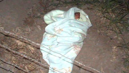 Madre abandona niña de cuatro días de nacida