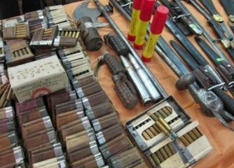 Ocupan arsenal de armas en vivienda de un raso del Ejército Nacional en Bonao