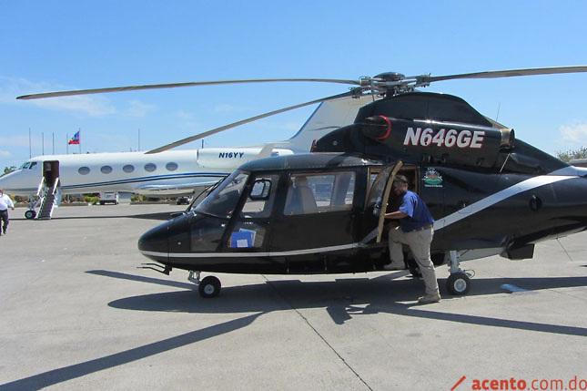 Militares y policías son los pilotos de helicópteros de empresarios y políticos