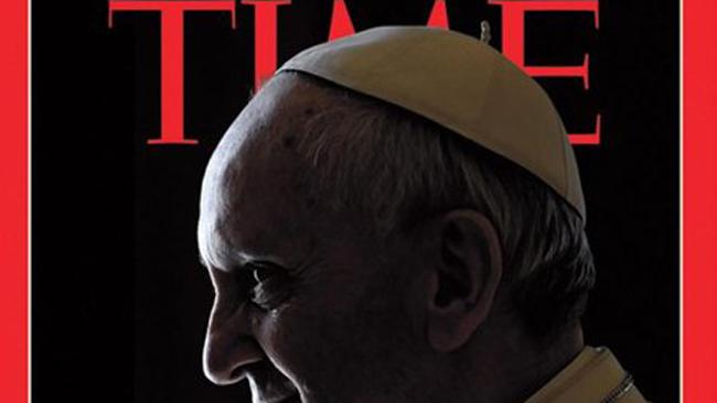 """Time """"le pone los cuernos"""" al Papa; ¿casualidad o qué?"""
