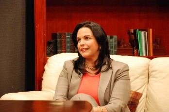 Minou Tavárez, negada a la reelección de Reinaldo y Abel en el Congreso