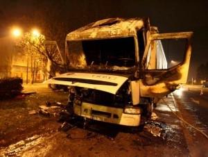 Violentos disturbios sacuden París