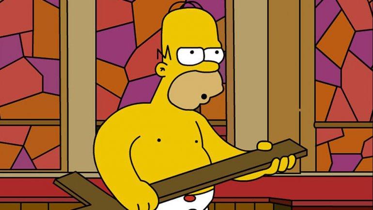 Piden a los Simpson menos desnudos y más respeto a Dios…