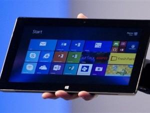 Tableta de Microsoft, buena para la productividad