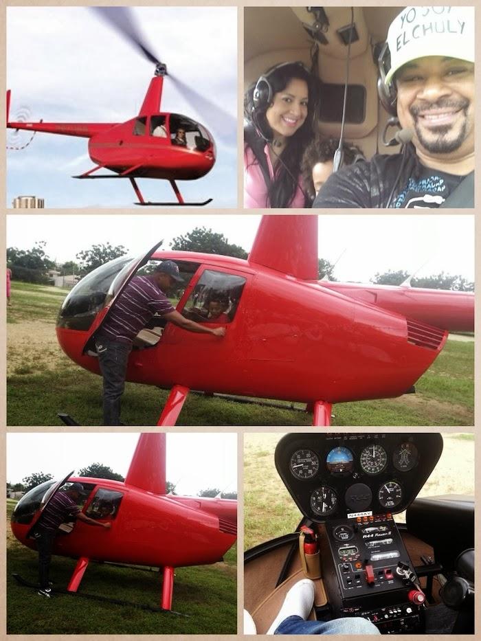 Luis Vargas compra helicóptero…
