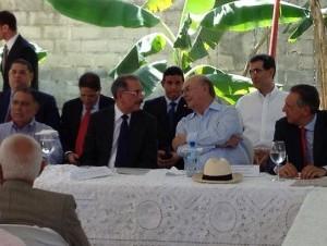 Danilo Medina e Hipólito Mejía se reúnen