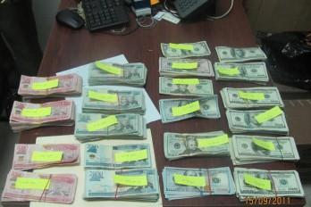 Ocupan más de 3.6 millones de pesos a supuesto narco en Puerto Plata
