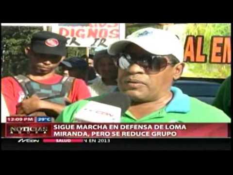 En Bonao advierten ocuparán Loma Miranda si gobierno aprueba explotación