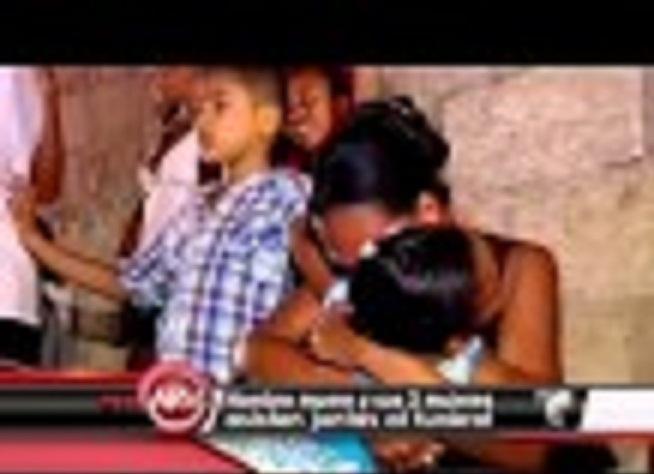 Tres mujeres asisten al funeral de su marido. VIDEO…