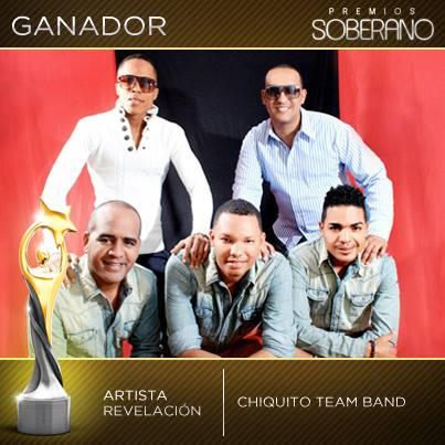 Artista Revelación del Año La Chiquito Team Band