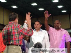 Ex senador perredeísta se juramenta en el PLD