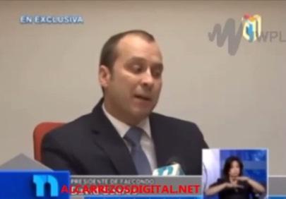 VIDEO: Presidente de FALCONDO felicita a Danilo Medina por observar ley Loma Miranda…