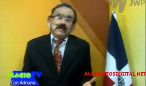 """VIDEO: Ni Danilo Medina se le """"salva"""" al comediante Gallito…"""