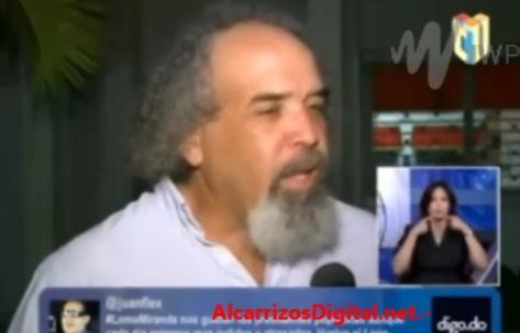 """Rogelio: """"Danilo es un mentiroso grande""""; llama a desobediencia cívica. VIDEO…"""