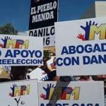 ¿Votaría UD. por una reelección de Danilo Medina?
