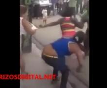 Una pele´e palos. VIDEO…