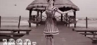 VIDEO: La evolución de los trajes de baño. INCREÍBLE…