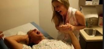VIDEO: Hombre se somete a los dolores de un parto…
