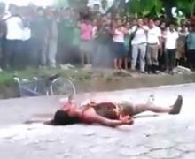 Barbarie en Guatemala: quemaron viva a una joven de 16 años…