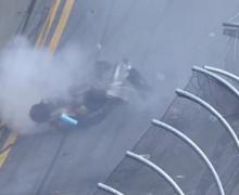 Video: 30 espectadores heridos en un terrible accidente de Nascar