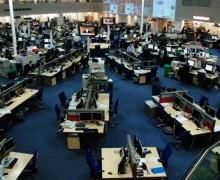 Los diarios de EEUU, en crisis: las redacciones se reducen a la mitad