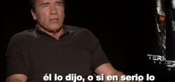 VIDEO: ¿Qué opina Arnold Schwarzenegger sobre Trump?