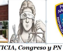 Justicia, Congreso y  PN,  los más desacreditados en la República Dominicana…