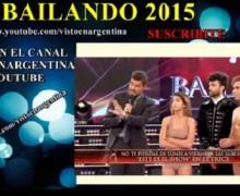 """Tremendo """"rollo"""" entre jurados y participantes de Bailando 2015. VIDEO…"""