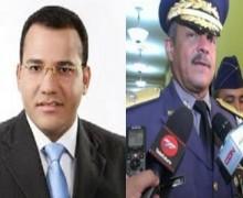 "LA VAINA PICA: Danilo ""jala"" jefe PN por amenaza a Holguín. VIDEO…"