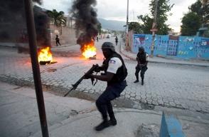 Violencia en Haiti