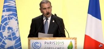 """Danilo Medina en Francia: """"Cambio climático es un desafío de todos"""""""