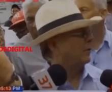 Hipólito Mejía llama borracho a Miguel Vargas. VIDEO…
