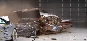 VIDEO: Los autos modernos son más seguros que los antiguos….