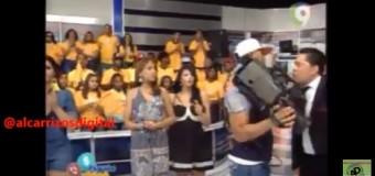 ¿Qué le pasó a El Pachá con un camarógrafo? VIDEO…
