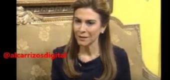 "CAROLINA MEJÍA, ""un gallito de pelea"". VIDEO…"