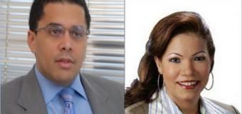 David Collado y Digna Reynoso, candidatos a la alcaldía del Distrito por  PRM-PRSC