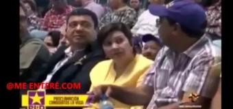 SE LE MONTÓ EL DIABLO a pastor en acto del PLD en La Vega y le apagan sonido. VIDEO…