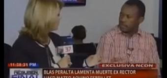 LA ENTREVISTA DE NURIA a Blas Peralta luego de muerte de Febrillet. VIDEO…