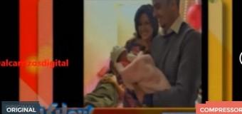 CONOZCA el padre de la beba de Yeni Berenice. VIDEO.