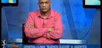 """EL COCODRILO le dice """"dos vainas"""" al GRAL. PN que desnudó policías por delincuentes. VIDEO…"""