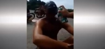 VIDEO: La violenta venganza contra un grafitero atrapado in fraganti…