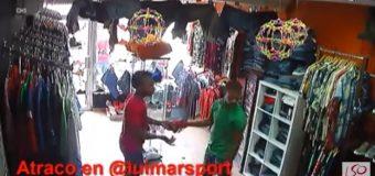 Vídeo de asalto a tienda de Herrera…