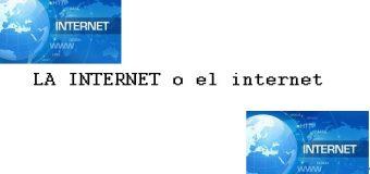 CULTURA EN 1 MINUTO: LA INTERNET o el internet. VIDEO…
