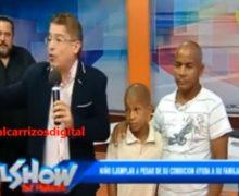 ENHORABUENA: Niño limpiabotas con cáncer, recibe ayudas. VIDEO…