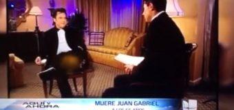 LA  ENTREVISTA más controversial de Juan Gabriel. VIDEO…