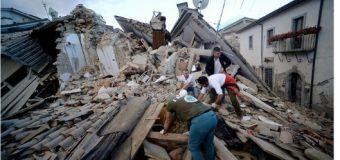 VIDEO: el momento exacto del terremoto que sacudió a Italia